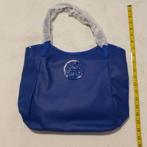 Tory Burch NWT Jelly Blue Tote